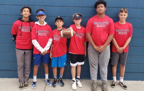 2019-2020 7th grade Intramural Champions.