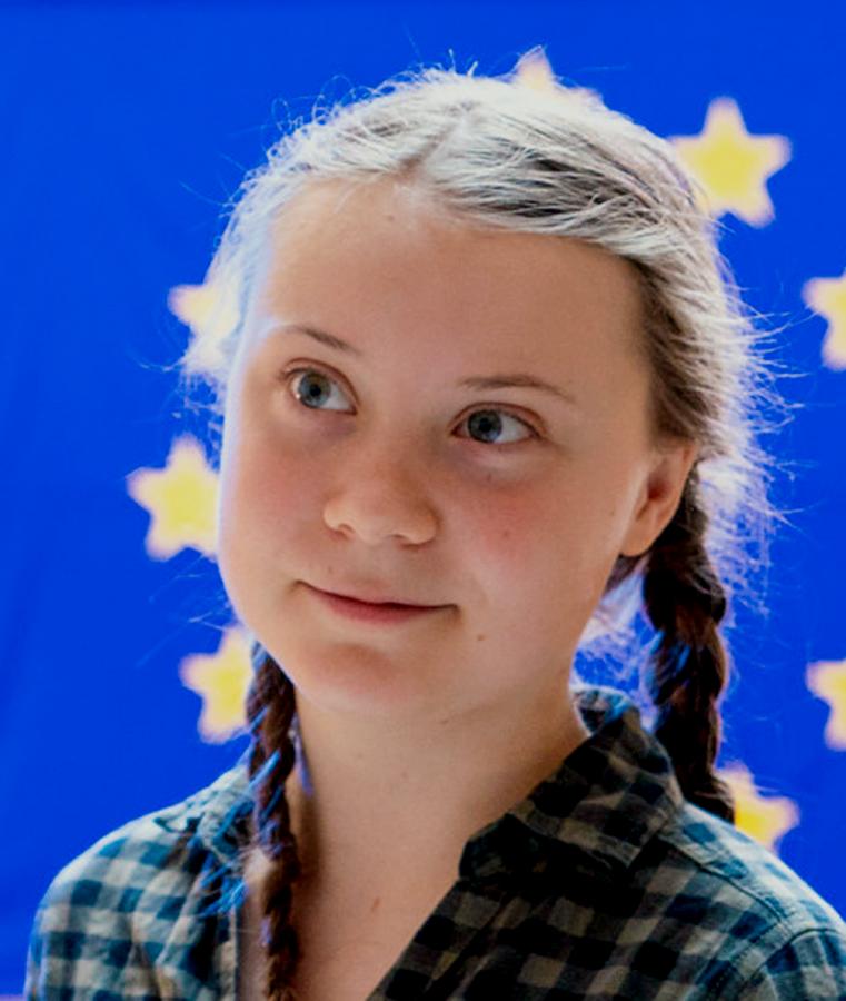 Greta Thunberg at the United Nations.
