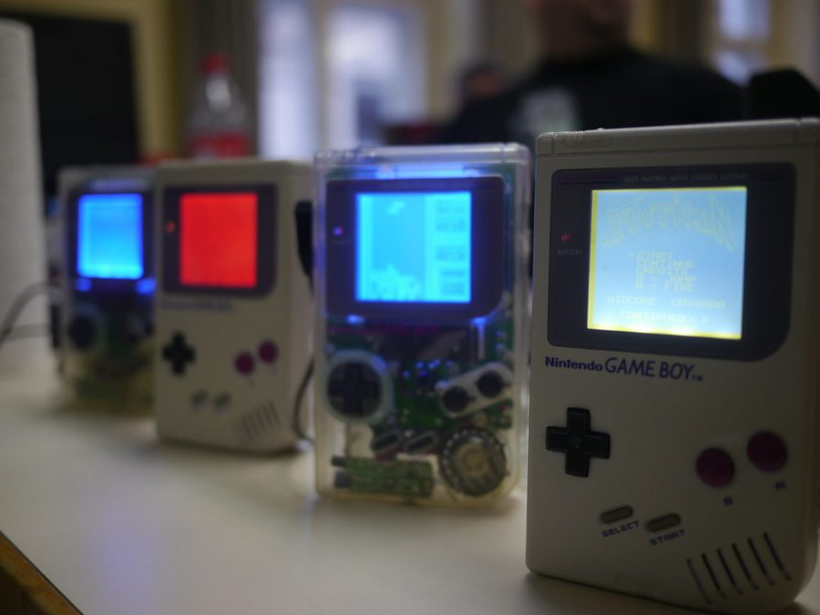 Different Game Boy designs.