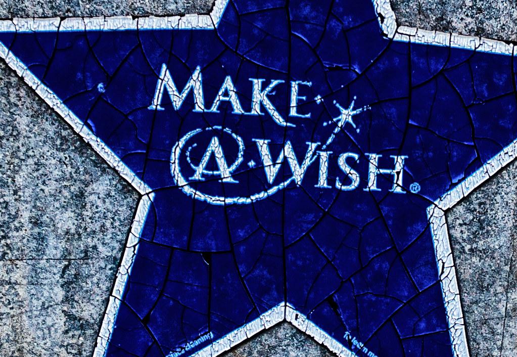 Make-A-Wish star.