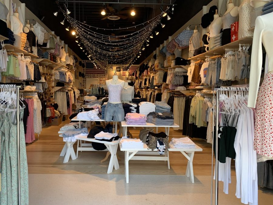 A Brandy Melville store.