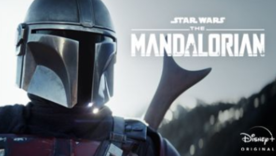 The Mandalorian cover.