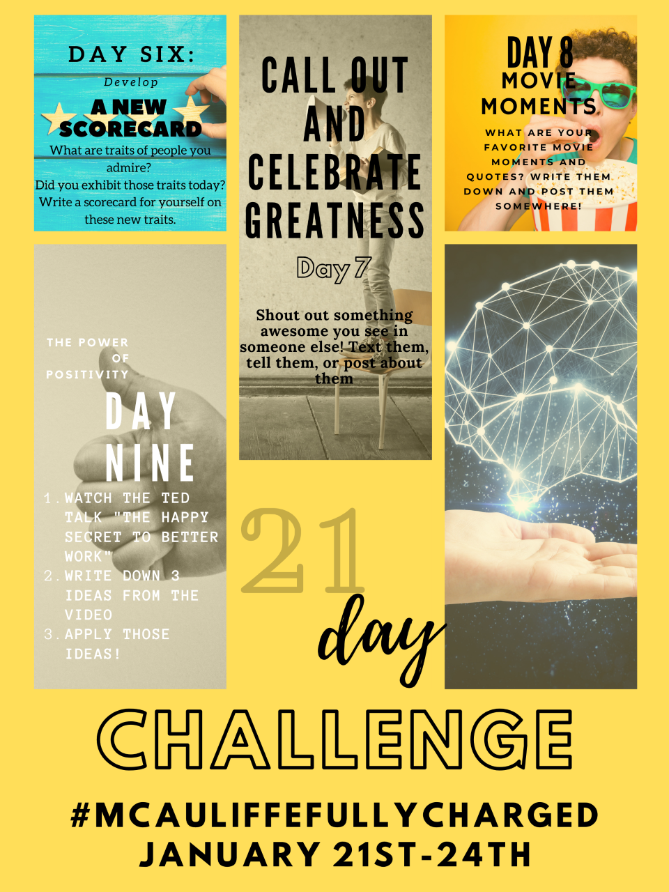 21 Day Challenge - WEEK TWO!
