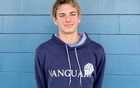 McAuliffe eighth grader, Alex Oprea.