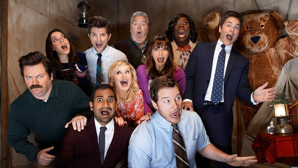 The quirky cast of Parks and Recreation.