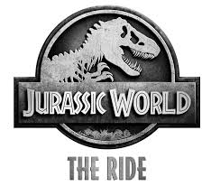 Jurassic World the ride logo.