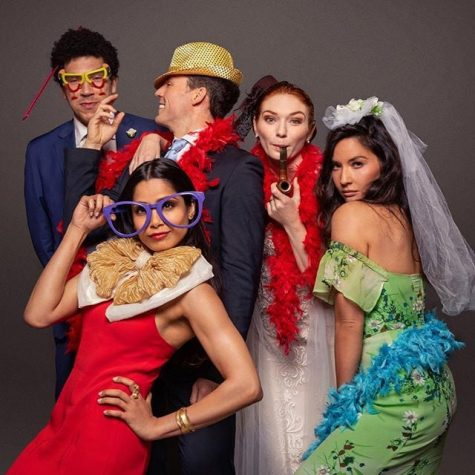 The cast of Love Wedding Repeat.