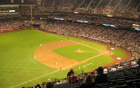 Chase Field, home of the Arizona Diamondbacks.