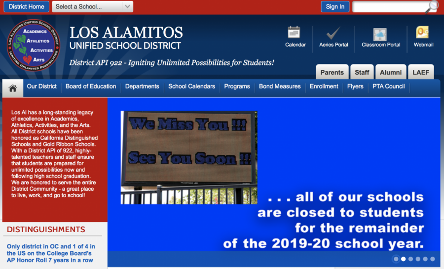 On April 2nd, LAUSD made the decision to close all school campuses for the remaining 2019-2020 school year for the safety of all students, teachers and staff.