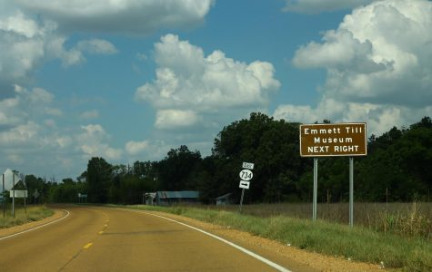 Road leading to the museum memorializing Emmett Till.