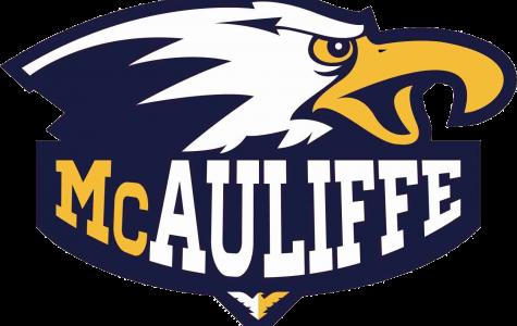 McAuliffe Middle School logo.