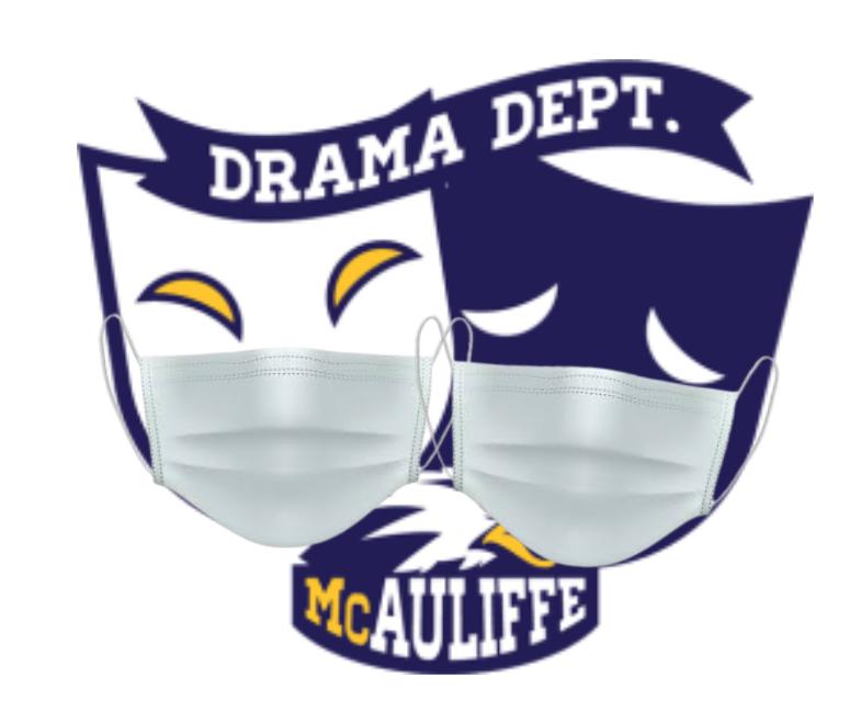 Drama Dept Logo w/ Masks