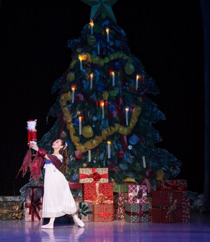 Clara and her nutcracker