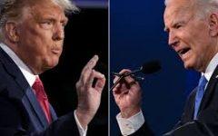 Joe Biden (right) and Donald Trump (left)