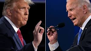 Joe Biden (right) and Donald Trump (left)