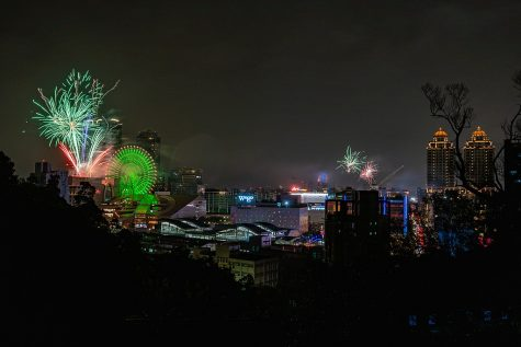 Image of New Years Fireworks