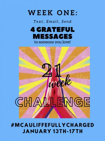 21 Week Challenge - WEEK ONE - ATTITUDE OF GRATITUDE