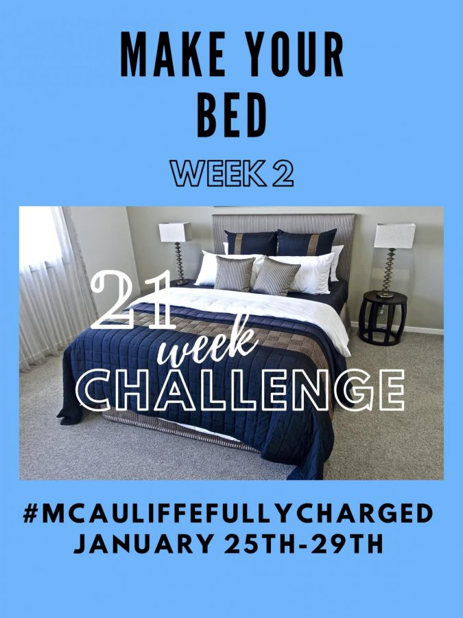 21 Week Challenge – WEEK TWO – MAKE YOUR BED