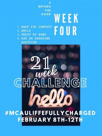 21 Week Challenge- Week 4