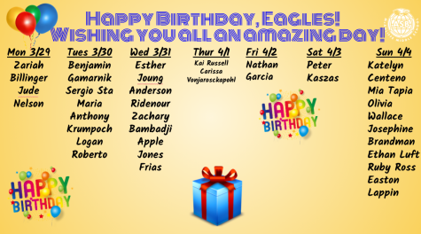 MCA Birthdays!
