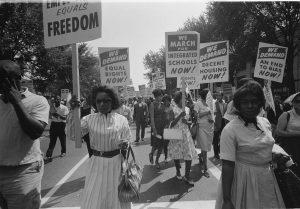 Civil rights March on Washington.