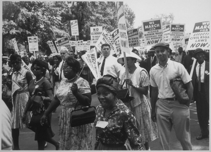 Civil Rights march.