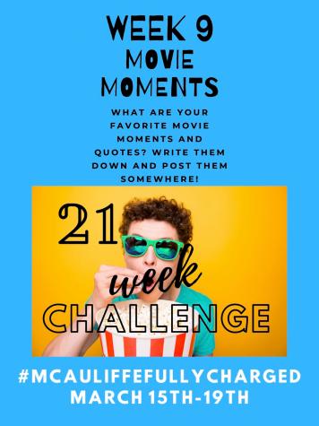 21 Week Challenge Week 9