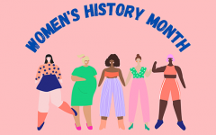 A graphic for Women's History Month.