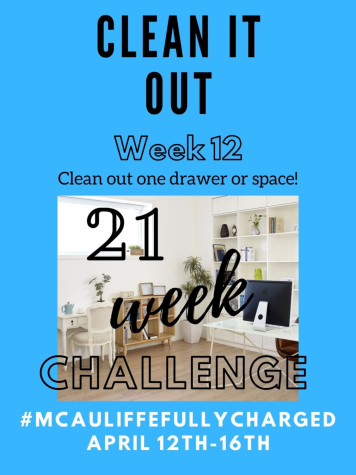 21 Week Challenge: Clean it Out