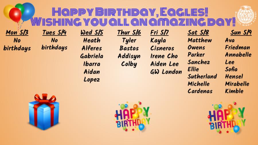 Happy Birthday Eagles!